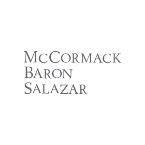 Logo for property management company McCormack Baron Salazar