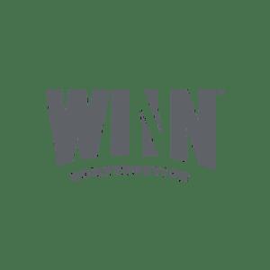 Logo for property management company Winn